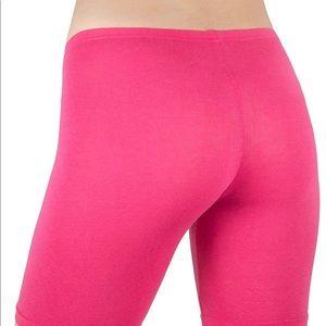 Pants - Bike shorts FUSHIA pink